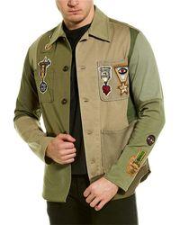 Valentino Denim Jacket - Green