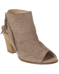 Paul Green Cayanne Leather Bootie - Natural