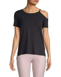 Body Language Sportswear - One-shoulder Tee - Lyst