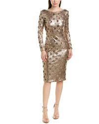 Dress the Population Cocktail Dress - Brown