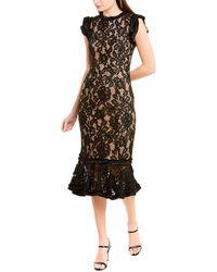 Alexis Sheath Dress - Black
