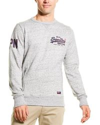 Superdry Vintage Logo Monochrome Sweatshirt - Grey
