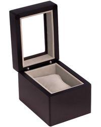 Bey-berk Bey Berk Single Watch Box - Black