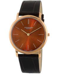 Stuhrling Original Men's Symphony Watch - Brown