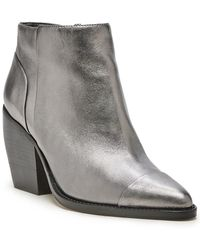 Sole Society Maevel Leather Bootie - Multicolor