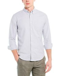 J.Crew Core Oxford Slim Fit Woven Shirt - Blue