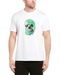 Roberto Cavalli Just Cavalli Graphic T-shirt - White
