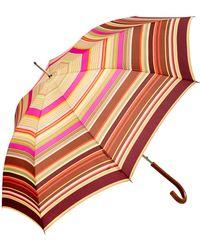 Missoni Marta Striped Automatic Umbrella - Multicolour