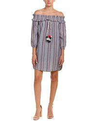Kensie Off-the-shoulder Shift Dress - Multicolour