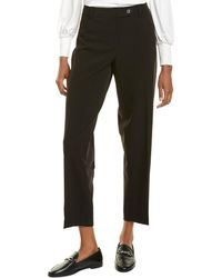 Jones New York Bi-stretch Straight Pant - Black