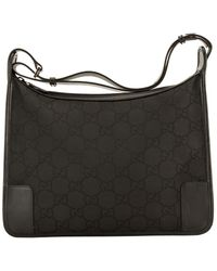 Gucci Black Nylon Hobo Bag