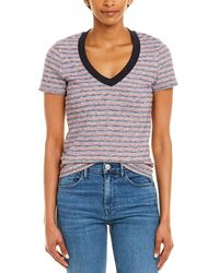 James Perse Striped T-shirt - Blue