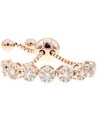 Diana M. Jewels . Fine Jewellery 14k Rose Gold Bracelet - Metallic