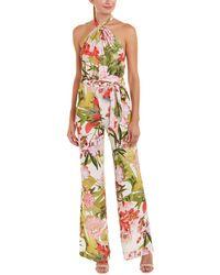Josie Natori Paradise Floral Jumpsuit - Multicolour