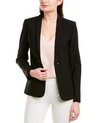 Elie Tahari Wool-blend Jacket - Black