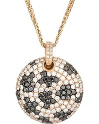 Diana M. Jewels - . Fine Jewelry 18k Rose Gold 3.13 Ct. Tw. Diamond Necklace - Lyst