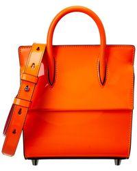 Christian Louboutin Paloma Mini Leather Tote - Orange