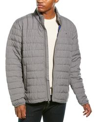Tommy Hilfiger Natural Down Jacket - Gray