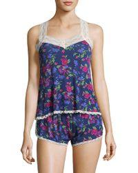 Honeydew Intimates Ahna Rayon Pyjama Set - Blue