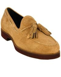 Tod's Tod?s Gomma Suede Moccasin - Brown