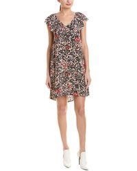 Zadig & Voltaire Reens Leo Ohtake Shift Dress - Pink