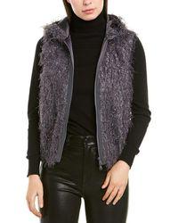 Brunello Cucinelli Silk-blend Vest - Purple