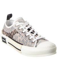 Dior Dior B23 Leopard Low-top Sneaker - Multicolor