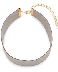 Sparkling Sage - Chunky Lobster Claw Choker - Lyst