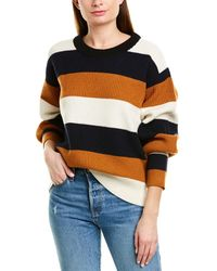 A.L.C. Savannah Wool & Cashmere-blend Sweater - White