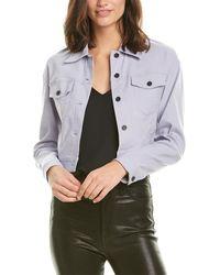A.L.C. Oxford Jacket - Purple