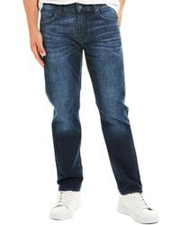7 For All Mankind 7 For All Mankind Slimmy Squiggle Ldrd Slim Leg - Blue