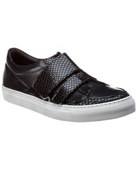 Jared Lang - Leather Trainer - Lyst