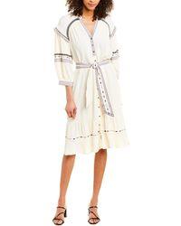 Ba&sh Patty Midi Dress - White