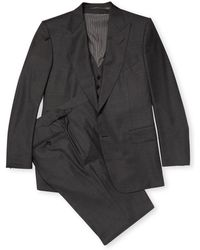 Tom Ford - Notch Lapel Wool Suit - Lyst