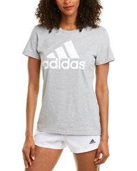 adidas Outdoor Basic Bos T-shirt - Gray