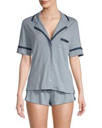 Cosabella - Sleep Shirt & Boxer Set - Lyst