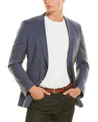 BOSS by HUGO BOSS Slim Fit Wool Sport Coat - Blue