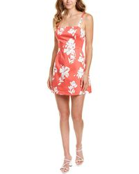 French Connection Alba Mini Dress - Pink