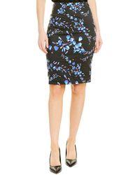 Nicole Miller Artelier Pencil Skirt - Black