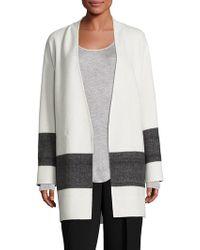 Rag & Bone Elgin Reversible Blanket Coat - White