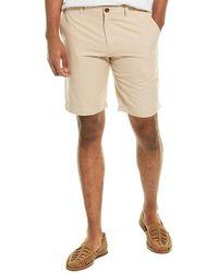 Brooks Brothers Linen-blend Bermuda Short - Natural