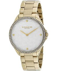 COACH Women's Modern Sport Watch - Metallic