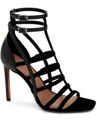 7ff4745b118 BCBGMAXAZRIA - Ilsa Caged Dress Sandals - Lyst