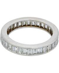 Diana M. Jewels . Fine Jewellery 18k 2.00 Ct. Tw. Diamond Ring - Metallic