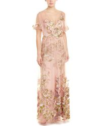 Marchesa notte Gown - Pink