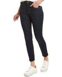 J.Crew Jeans High-rise Toothpick Resin Rinse Wash Skinny Leg - Blue