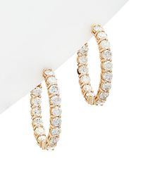 Diana M. Jewels . Fine Jewellery 18k Rose Gold 6.13 Ct. Tw. Diamond Earrings - Metallic