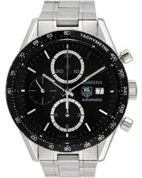 Tag Heuer Carrera Chronograph Stainless Steel - Multicolour