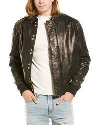 IRO Drill Leather Jacket - Black