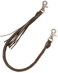 John Varvatos - Swag Leather Bracelet - Lyst